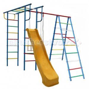 А+П Детский спортивный комплекс с горкой Вертикаль