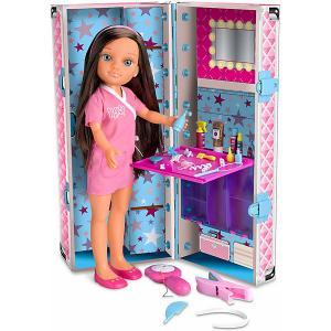 Игровой набор  Стильная причёска, Нэнси Famosa. Цвет: розовый