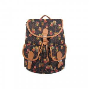 Рюкзак Филины с 2-мя карманами, цвет черный Creative LLC