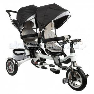 Велосипед трехколесный  для двойни Twin Trike 360 Capella