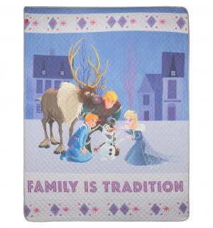 Покрывало  Disney Family 160 х 200 см, цвет: фиолетовый Нордтекс
