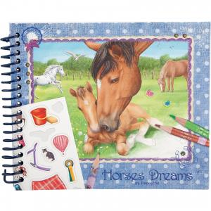 Карманная раскраска Horses Dreams, Creative Studio Depesche