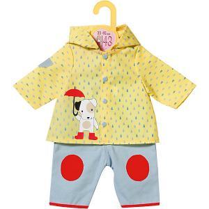Одежда для куклы  Baby Born Комбинезон и курточка от дождя Zapf Creation