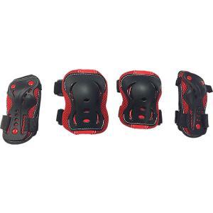 Комплект защиты  Safety line 700 Tech Team. Цвет: красный