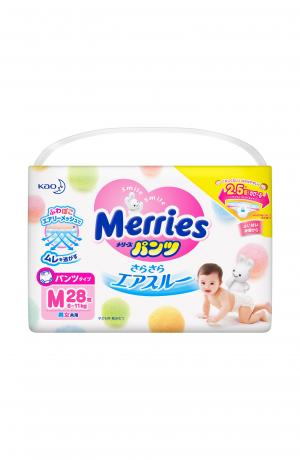 Подгузники-трусики  M (6-10 кг) 28 шт. Merries