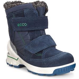 Утепленные сапоги ECCO. Цвет: синий