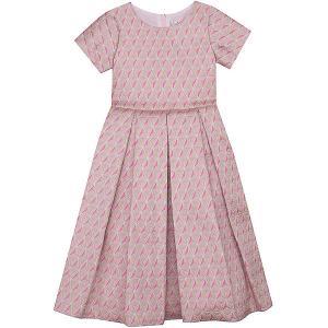Нарядное платье Vitacci. Цвет: розовый