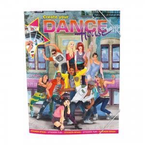 Альбом с наклейками Create your Dance House, Creative Studio Depesche