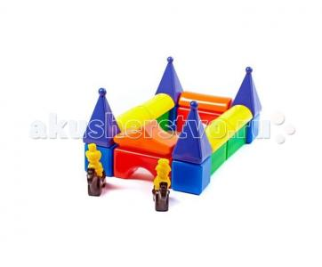 Развивающая игрушка  Строительный набор Постоялый двор-2 24 элемента СВСД