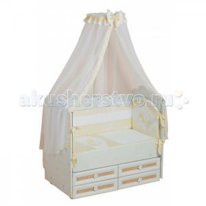 Комплект в кроватку  Мой маленький друг (7 предметов) Селена (Сдобина)