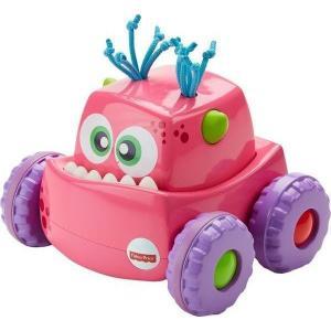 Развивающая игрушка  Инерционный розовый монстрик 20 см Fisher-Price