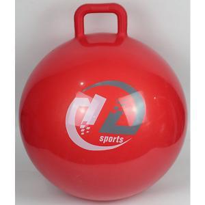 Мяч-попрыгун  с ручкой, 65см, красный Z-Sports