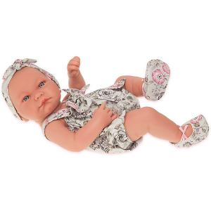 Кукла-младенец  Мина, 42 см Munecas Antonio Juan. Цвет: белый