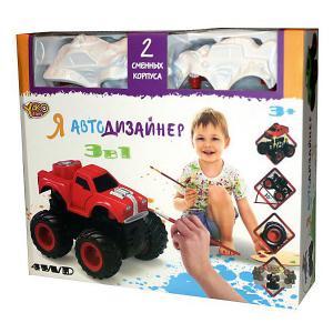 Набор для творчества 3 в 1  Toys Я автодизайнер, M6540-6 Yako