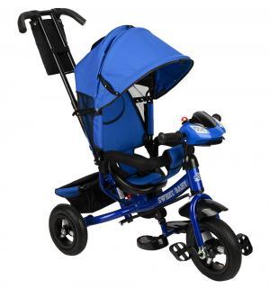 Трехколесный велосипед  Mega Lexus Trike 10/12 Air Music bar, цвет: Blue Sweet Baby