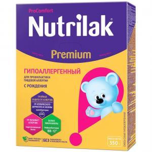 Молочная смесь Нутрилак Premium гипоаллергенная с рождения, 350 г Nutrilak