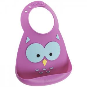 Нагрудник  Baby Bib Owl Make my day