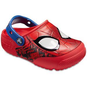Сабо CROCS Spider-Man. Цвет: красный