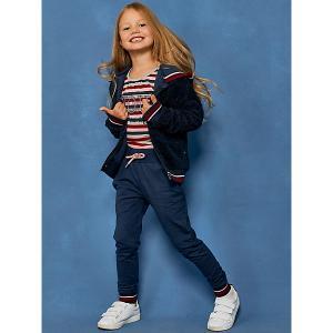 Комплект: куртка, лонгслив, брюки Juno. Цвет: темно-синий