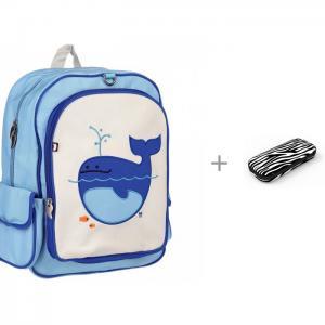 Рюкзак Lucas-Whale с пеналом Zipit Colorz Box Beatrix