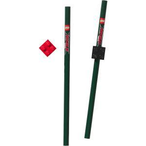 Набор карандашей (2 шт.) с насадками в форме кирпичика  Ninjago Movie (Лего Фильм: Ниндзяго) LEGO