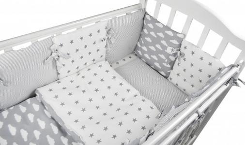 Комплект в кроватку  Sky (15 предметов) Forest