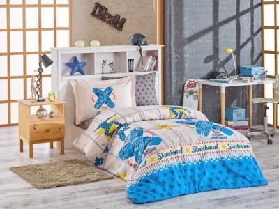 Постельное белье  Skateboard 1.5-спальное Евро (4 предмета) Hobby Home Collection