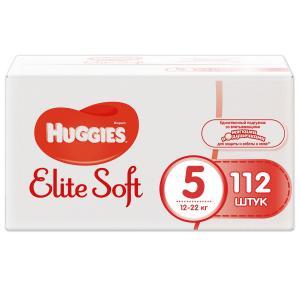Подгузники  Elite Soft 5 (12-22 кг) 112 шт. Huggies