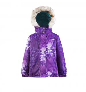 Комплект куртка/полукомбинезон , цвет: фиолетовый Gusti