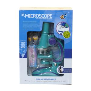 Научно-познавательный набор  Микроскоп со слайдами Genio Kids