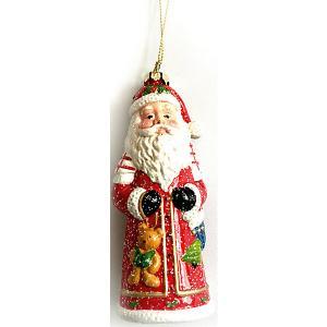 Дед мороз пластиковый в полибэге MAG2000