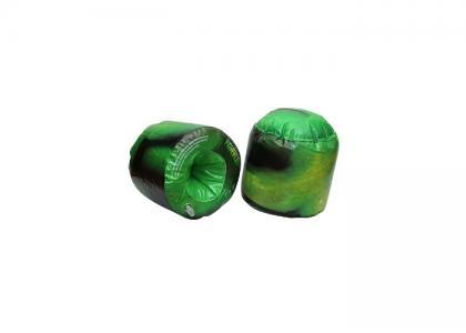 Надувные тренировочные перчатки Черепашки-ниндзя серия DoJo Turtles
