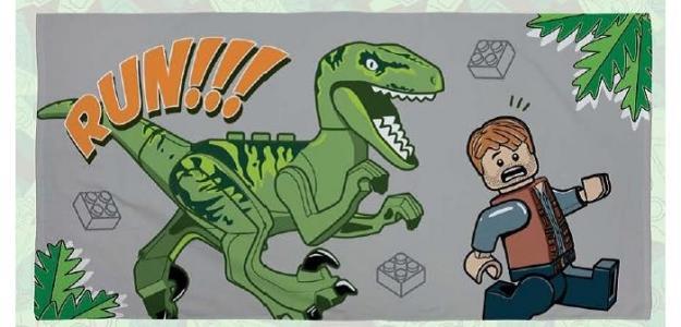 Полотенце Jurassic World Chase 70х140 см Lego