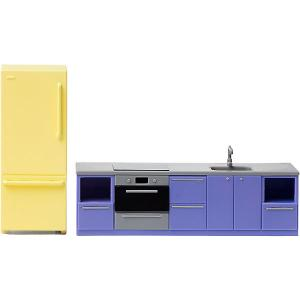 Мебель для домика  Базовый набор кухни Lundby. Цвет: разноцветный