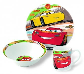 Набор посуды керамической Тачки 3 (3 предмета) Stor