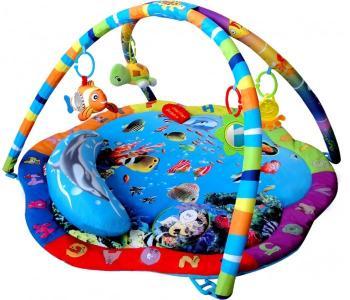 Развивающий коврик  с подвесными игрушками Подводный мир Leader Kids