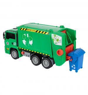 Грузовик  AirPump Мусоровоз зеленый с контейнером 31 см Dickie