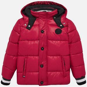 Демисезонная куртка Mayoral. Цвет: красный