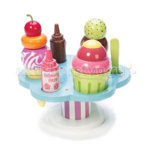 Деревянная игрушка  Десерт-мороженое на подставке LeToyVan