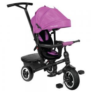 Трехколесный велосипед  Rider 360° 10x8 AIR Car, цвет: фиолетовый Moby Kids