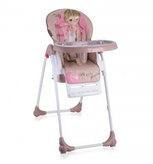 Стульчик для кормления  Oliver, цвет: rose&beige princess Lorelli