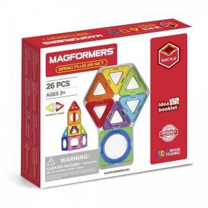 Конструктор  Магнитный Basic Plus 26 Set Magformers