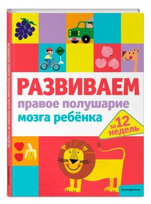 Книга  «Развиваем правое полушарие мозга ребенка за 12 недель» 0+ Эксмо