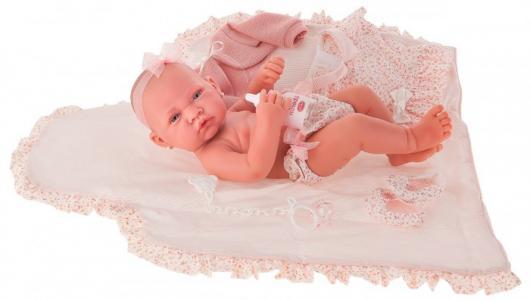 Кукла Африка в розовом 42 см Munecas Antonio Juan