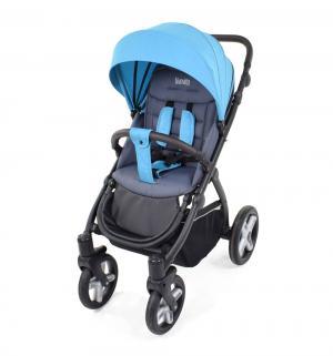 Прогулочная коляска  Modo Terreno, цвет: синий/серый Nuovita