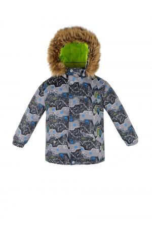 Куртка  Горы, цвет: серый Reike