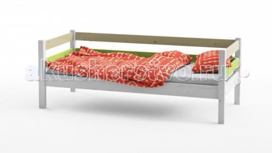 Подростковая кровать  Wood Fantasy 1 ярус 160х80 см Grifon Style
