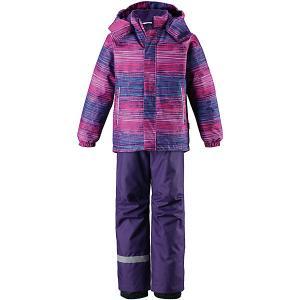 Комплект  : куртка и брюки Lassie. Цвет: лиловый