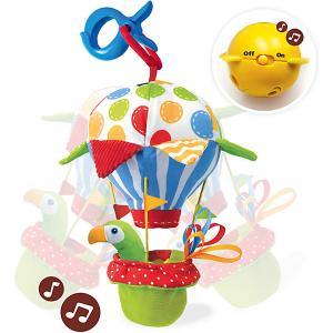 Мягкая игрушка  Попугай на воздушном шаре, музыкальная Yookidoo. Цвет: разноцветный
