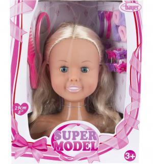 Кукла  Модель-торс для создания причесок с аксессуарами 19 см Bayer